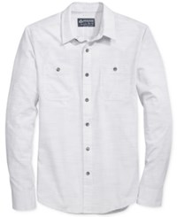 American Rag Men's Salt Solid Shirt Only At Macy's Bright White