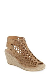 Bettye Muller Women's Duchess Espadrille Wedge Tan