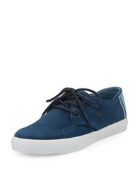Lacoste Sevrin Suede Low Top Sneaker Blue