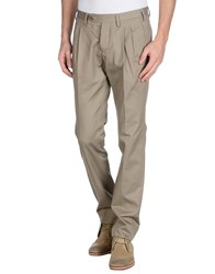 Mp Massimo Piombo Trousers Casual Trousers Men Grey