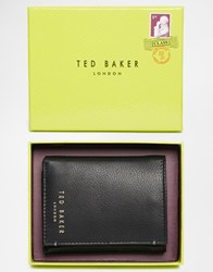 Ted Baker Jonnys Leather Cardholder Black