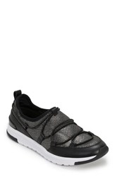 Foot Petals Bree Sneaker Black Pewter