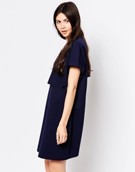 By Zoe By Zoe Loose T Shirt Dress Navy