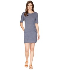 Alternative Apparel Eco Jersey Pocket T Shirt Dress Eco True Navy