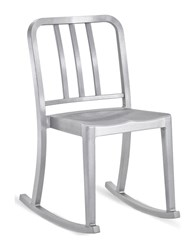 Emeco Heritage Rocking Chair Silver