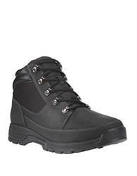 Timberland Skhigh Rock Ii Leather Lug Sole Boots Black