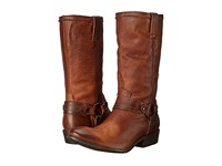 Frye Carson Harness Cognac Washed Antique Pull Up Women's Pull On Boots Brown
