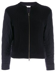 Guild Prime Shell Panelled Cardigan Blue