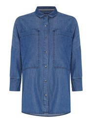 Barbour International Hopnel Shirt Chambray
