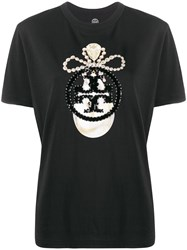 Tory Burch Sequin Jewel Logo T Shirt 60
