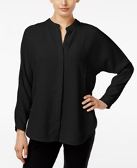 Alfani Prima Dolman Sleeve Blouse Only At Macy's Deep Black