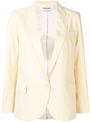 Zadig And Voltaire Fashion Show Boyfriend Fit Blazer Yellow