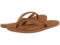 Vans Bahia Leather Cameo Women's Sandals Tan