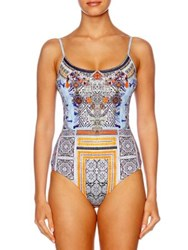 Camilla Chinese Whispers One Piece Embellished Swimsuit Dress Up Box