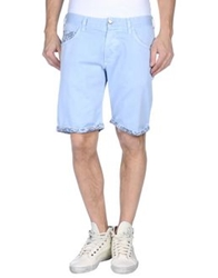 Myths Denim Bermudas Sky Blue