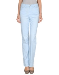 Krizia Jeans Casual Pants Sky Blue