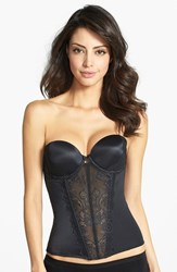 Women's Felina 'Caress Too' Lace Underwire Bustier Black