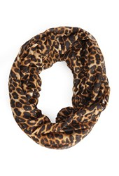 Forever 21 Leopard Print Infinity Scarf