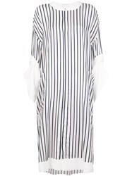 Roland Mouret Dove Striped Dress 60