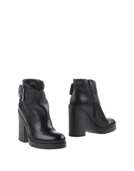 Pierre Darre' Ankle Boots Black