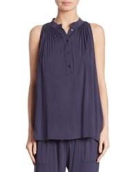 Hatch Medina Sleeveless Top Navy