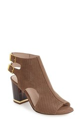Louise Et Cie Women's 'Vanita' Block Heel Bootie Nevada Nubuck Leather