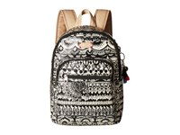 Sakroots Artist Circle Mini Backpack Black White One World Backpack Bags Beige