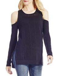 Jessica Simpson Knitted Long Sleeve Pullover Black