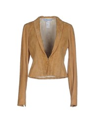 Blumarine Suits And Jackets Blazers Women Camel