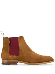 Paul Smith Ps Ankle Boots Neutrals