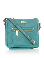 Ollie And Nic Annie Small Hobo Bag Blue