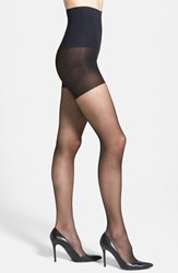 Women's Commando 'The Keeper' Control Top Sheer Tights Black