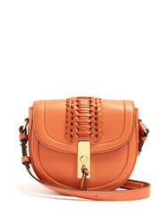 Altuzarra Ghianda Mini Leather Cross Body Bag Tan