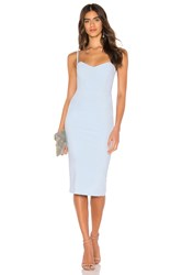 Nookie X Revolve Allure Midi Dress Baby Blue
