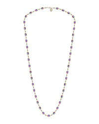 Kendra Scott Gale Crystal Station Necklace Iridescent Black
