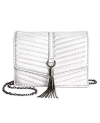 Inc International Concepts Mini Yvonn Crossbody Only At Macy's Silver