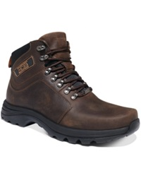 Rockport Elkhart Waterproof Lace Up Boots Men's Shoes Cocoa