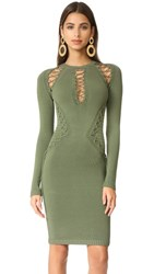Torn By Ronny Kobo Brighton Dress Olive