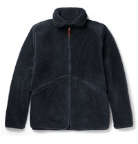 Albam Fleece Zip Up Jacket Navy