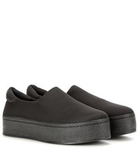 Opening Ceremony Platform Slip On Sneakers Black