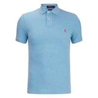 Polo Ralph Lauren Men's Short Sleeve Slim Fit Polo Shirt French Turquiose