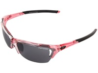 Tifosi Optics Radius Interchangeable Crystal Pink Smoke Ac Red Clear Lens Sport Sunglasses
