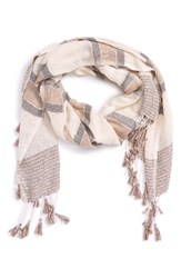 Sole Society Women's Embellished Knit Scarf