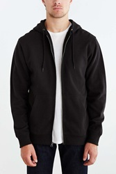 Bdg Fleece Zip Hooded Sweatshirt Black