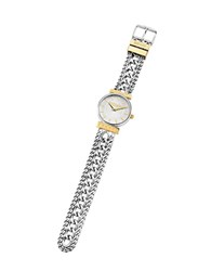 Just Cavalli Just Couture Two Tone Stainless Steel Women's Watch Silver
