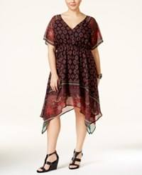 American Rag Plus Size Printed Empire Waist Dress Only At Macy's