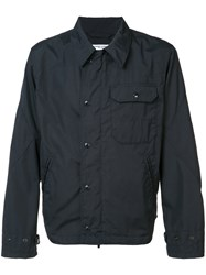 Engineered Garments Chest Pocket Jacket Blue