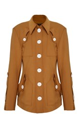 Ellery Starlight Club Safari Jacket Brown