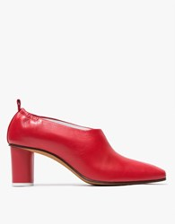 Gray Matters Micol Pump In Red