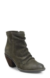 Born B Rn Aire Bootie Green Suede